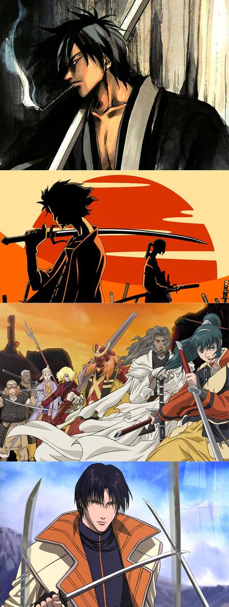 samurais animanga