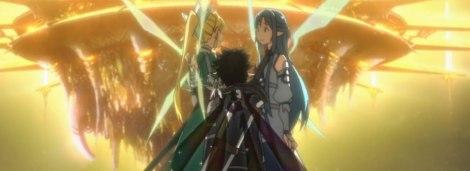 Todo iba bien hasta que Asuna cambió de tinte.