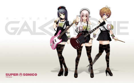 sonico nuevo anime