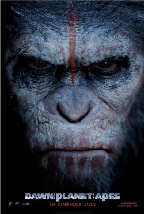 el amanecer del planeta de los simios poster